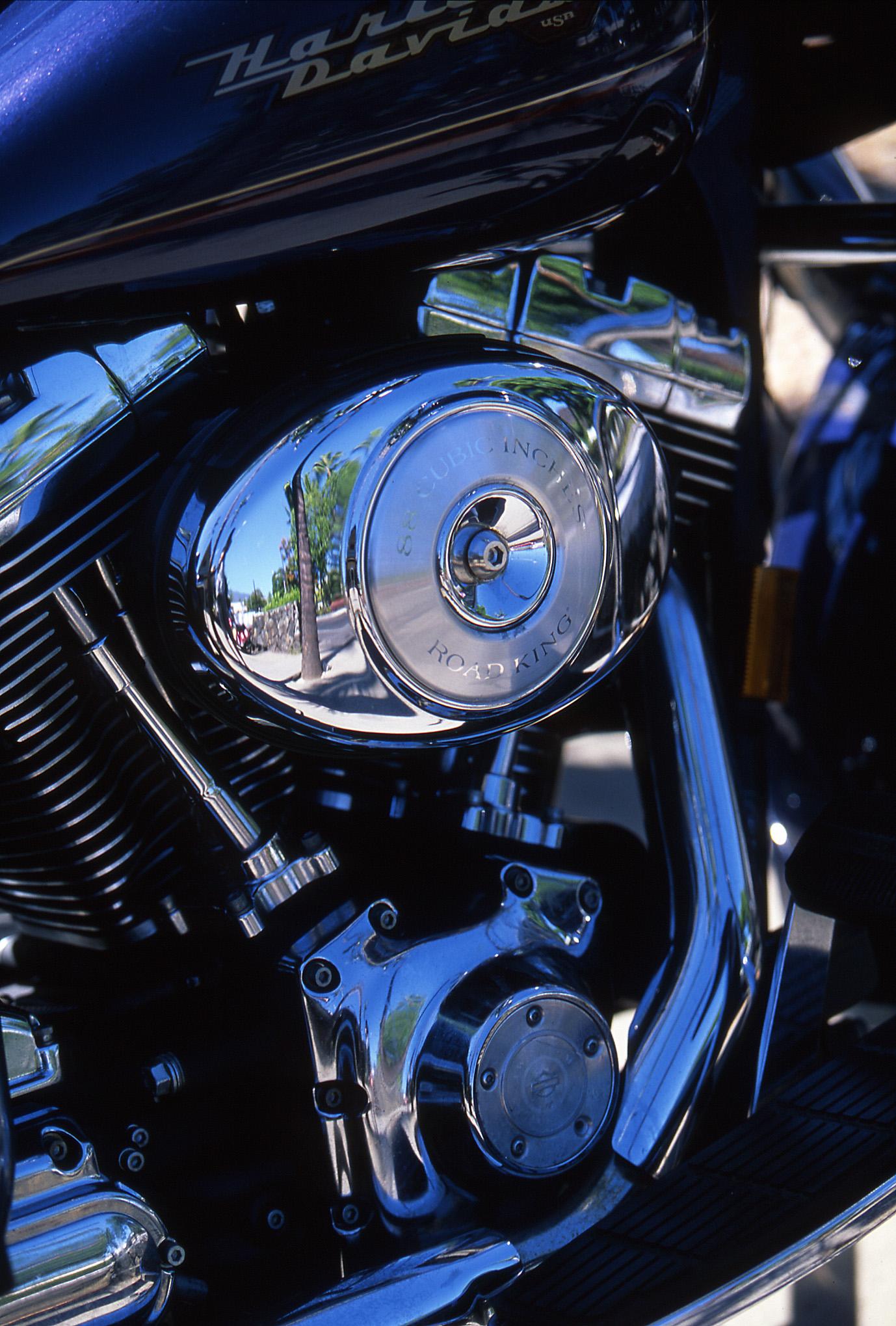 ハーレーのエンジン